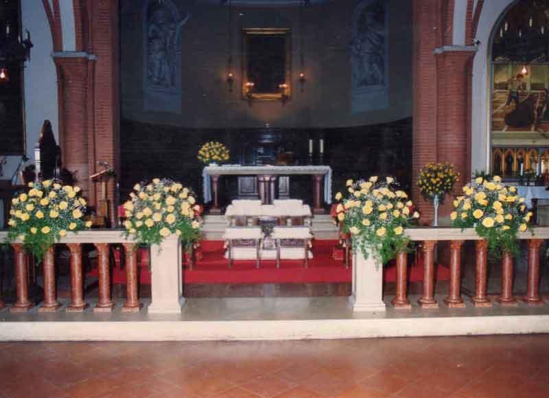 Decorazioni Sala Laurea : Addobbi floreali matrimonio composizioni fiori centrotavola auto sposi